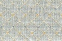 6746812 RENAISSANCE F BLUE Diamond Jacquard Upholstery And Drapery Fabric