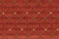 6746818 RENAISSANCE F RED Diamond Jacquard Upholstery And Drapery Fabric