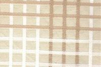 6747313 SEABURY BISQUE Check Jacquard Upholstery And Drapery Fabric