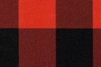 Premier Prints CLAYTON RED/BLACK Buffalo Check Print Upholstery And Drapery Fabric