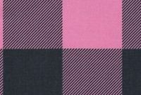 Premier Prints CLAYTON POLISH PINK BLUE Buffalo Check Print Upholstery And Drapery Fabric