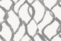 6752211 MASTERPIECE C GRAY Lattice Linen Blend Upholstery And Drapery Fabric