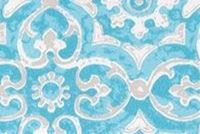 Premier Prints OUTDOOR ATHENS AQUA Lattice Indoor Outdoor Upholstery Fabric