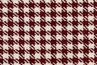 6752915 HOUNDSTOOTH CHECK CRIMSON Houndstooth Jacquard Upholstery Fabric
