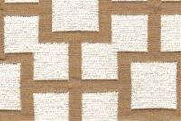 6753113 FRET NATURAL Lattice Chenille Upholstery And Drapery Fabric