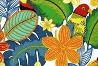 Swavelle Mill Creek BEAK IN THE WAY/FRESCO TROPICAL Tropical Indoor Outdoor Upholstery Fabric