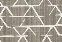 Richloom Fortress Acrylic KENGO TAUPE Geometric Indoor Outdoor Upholstery Fabric