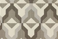 Richloom Fortress Acrylic PROFILE PEWTER Geometric Indoor Outdoor Upholstery And Drapery Fabric