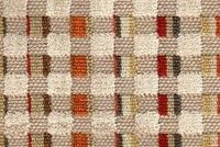 6758514 CHIPPER AUTUMN Plaid Velvet Upholstery Fabric