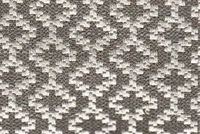 6758713 PENN SILVER Diamond Linen Blend Fabric