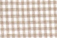 6759014 GINGHAM NATURAL Check Sheer Fabric
