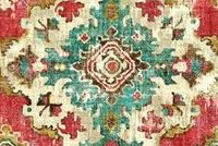 Covington KAPOOR 38 CINNABAR Southwestern Linen Blend Upholstery And Drapery Fabric