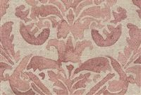 Lacefield Designs CORIBEL ROSE Floral Print Upholstery And Drapery Fabric