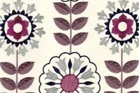 6763616 LONETO B SAND Floral Embroidered Fabric