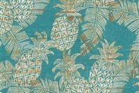 Tommy Bahama Home TBO CARATE BATIK LAGOON 802221 Tropical Indoor Outdoor Upholstery And Drapery Fabric
