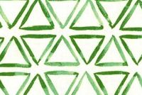 Waverly PAINTED TRIANGLES VERTE 681410 Geometric Print Upholstery And Drapery Fabric