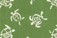 Waverly SEA TURTLES VERTE 681360 Tropical Print Upholstery And Drapery Fabric