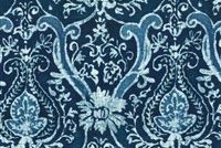 P/K Lifestyles SARASA BALTIC 407070 Floral Linen Blend Fabric