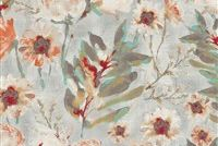 Kelly Ripa Home FLOWER MANIA SHELL 550410 Floral Print Upholstery And Drapery Fabric