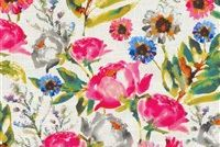 Kelly Ripa Home FLOWER MANIA PETUNIA 550411 Floral Print Upholstery And Drapery Fabric