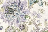 P Kaufmann VINTAGE/CIR 004 SUGAR PLUM Floral Linen Blend Upholstery And Drapery Fabric
