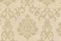 6774014 NYC A COL.2 CREAM Floral Damask Upholstery And Drapery Fabric
