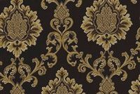 6774015 NYC A COL.8 MINT CHOCOLATE Floral Damask Upholstery And Drapery Fabric