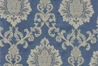 6774016 NYC A COL.5 DELFT Floral Damask Upholstery And Drapery Fabric