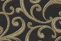 6774115 NYC B COL.8 MINT CHOCOLATE Floral Damask Upholstery And Drapery Fabric