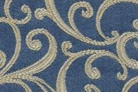 6774116 NYC B COL.5 DELFT Floral Damask Upholstery And Drapery Fabric