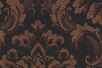 6774613 CARLOTA A COLOR #8 MAHOGANY Floral Chenille Upholstery And Drapery Fabric