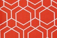 Performatex O'HEXAGON CORAL Lattice Indoor Outdoor Upholstery Fabric
