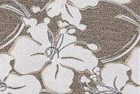 Performatex O'SOUTHBEACH WHITE LINEN Floral Indoor Outdoor Upholstery Fabric