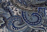 Performatex O'PAISLEY PARK INDIGO Paisley Indoor Outdoor Upholstery Fabric