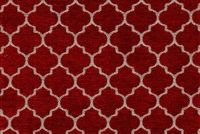 6778814 CUSTOM 15 55IN RED Lattice Chenille Upholstery Fabric