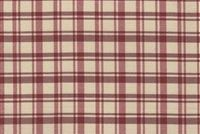 6781715 MONTERREY 15 55IN RED Plaid Upholstery And Drapery Fabric