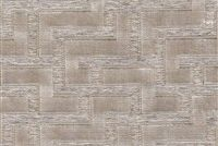 6784811 TITAN QUARTZ Geometric Cotton Blend Velvet Upholstery Fabric