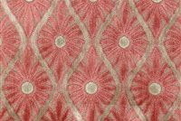 6785011 CLAUDIA HENNA Floral Velvet Upholstery Fabric