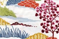6785311 MEADOWBROOK SHERBERT Embroidered Drapery Fabric