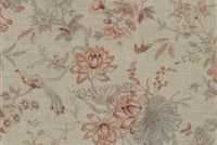 Waverly LUCCHESE GIARDINO 681660 Floral Linen Blend Upholstery And Drapery Fabric