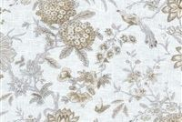 Waverly LUCCHESE FUMO 681663 Floral Linen Blend Upholstery And Drapery Fabric