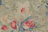 Waverly VOLTERRA GIARDINO 681650 Floral Linen Blend Upholstery And Drapery Fabric