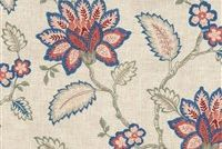 Waverly PERENNIAL EMB GARDEN 654392 Floral Embroidered Fabric