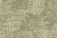 Tommy Bahama Home PRIVATE ISLAND VERDE 802291 Tropical Jacquard Upholstery And Drapery Fabric