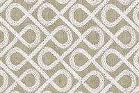 Tommy Bahama Home LANGOSTA EMB SHORELINE 802330 Lattice Embroidered Drapery Fabric