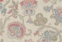 Waverly AREZZO GIARDINO 681630 Floral Linen Blend Upholstery And Drapery Fabric