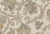 Waverly AREZZO PORCINI 681631 Floral Linen Blend Upholstery And Drapery Fabric