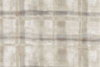 Waverly ARNO FUMO 681622 Plaid Linen Blend Upholstery And Drapery Fabric