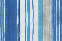 Tommy Bahama Home SEASCAPE STRIPE AZUL 802301 Stripe Print Upholstery And Drapery Fabric