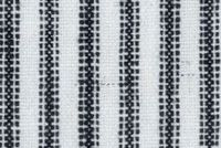 Waverly PISA STRIPE DOMINO 681711 Stripe Linen Blend Upholstery And Drapery Fabric